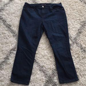 Tommy Hilfiger cropped jeans